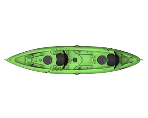 dem Kayak   (Lime, 13.5-Feet) (Tandem Kayak Package)