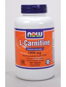 Now Foods: L-Carnitine Fitness Support 1000mg, 100 tabs by NOW Foods