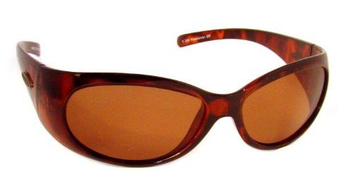 Sea Striker Weekender Polarized Sunglasses, Tortoise Frame, Brown Lens
