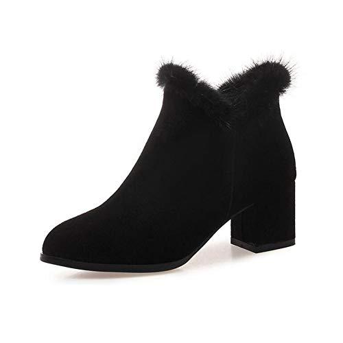 stivali e alto cn38 nuove da inverno tacco scarpe Eu38 Yiwu uk5 dimensioni Martin stivaletti donna 5 autunno wCX88v