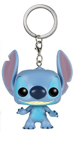 JPTACTICAL Cartoon Lilo & Stitch Mini Figure Keychain ()