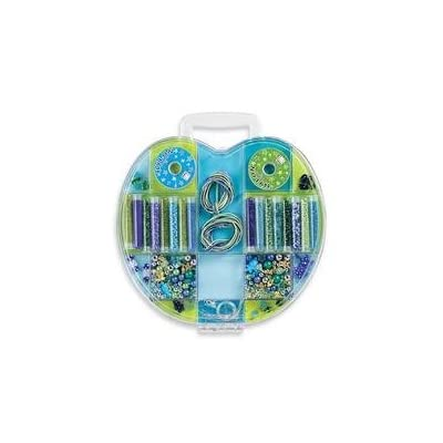 Apple Bead Kit - Blue and Green: Toys & Games