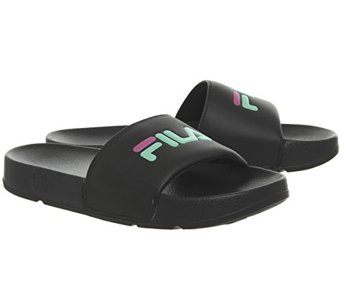 Womens desert Drifter Fila Slides Cokatoo White Magenta Flower cockatoo Black ptwAwdq