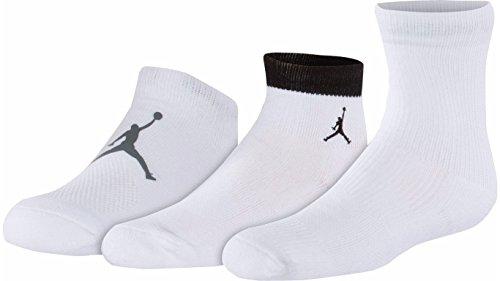 Nike 23 Youth Boys 3 Prs Low Cut, Quarter, Crew Socks (3y...
