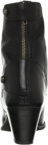 FRYE Womens Jackie Zip Short Boot Black Bb2Ws5qV9E