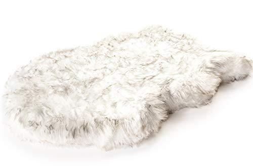 PupRug Faux Fur Memory Foam Orthopedic Dog Bed (Large/Extra Large - 50