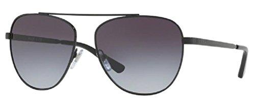 DKNY Women's Metal Woman Aviator Sunglasses, Black, 58 mm (Aviator Dkny Sunglasses)