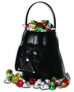 Star Wars Treat Pail (New Star Wars Darth Vader Sand Pail Trick Or Treat Bucket Halloween Decoration)