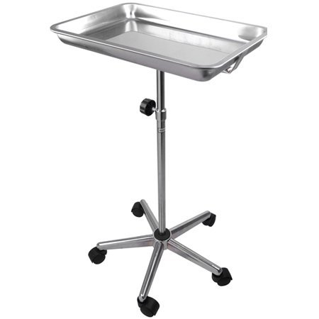 CHIMAERA Universal Mayo Stainless Steel Instrument Stand with Removable Tray and 5 Legs by CHIMAERA (Image #3)