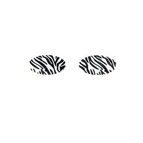 Fancy Face Paint Color Halloween Instant Zebra Eyeshadow Decal -