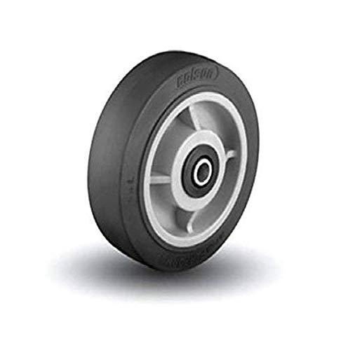 "Colson 1"" ID 10"" x 2-1/2"" Soft Rubber Wheel"