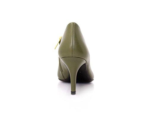 Botas Diamond para Grün mujer Piel de Thymian Heels 6RrxwRq5