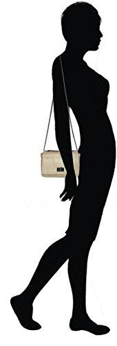 De Façon Femme 2 22 Italy Vachette Longueur Made Épaule Petit Cm Bandoulière Lae In Tailles Reptile Chaîne Cuir Camel Sac Porté Python 4cW4X6n