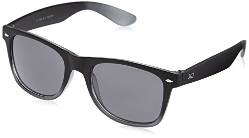 JACK & JONES Herren Sonnenbrille Jjactrend Sunglasses, Grau (Black Detail:J5001-01), One size