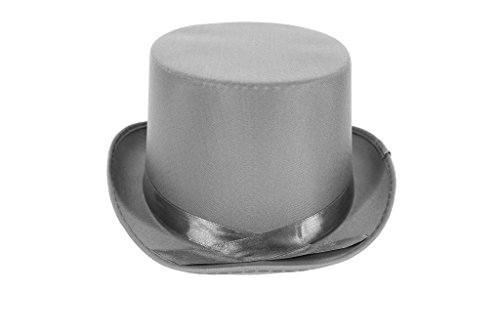 [Dress Up Party Costume TOP Hat (Grey)] (Snowman Costume Hat)