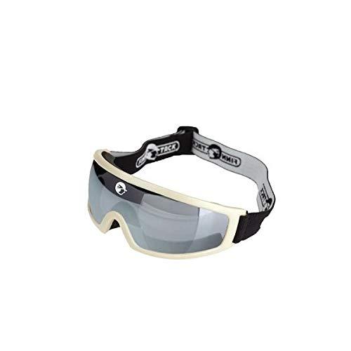 Finn-Tack Racing Goggles - White/Black One Size (Glass Finn)