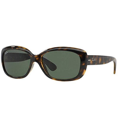 Ray-Ban JACKIE OHH - LIGHT HAVANA Frame CRYSTAL GREEN Lenses