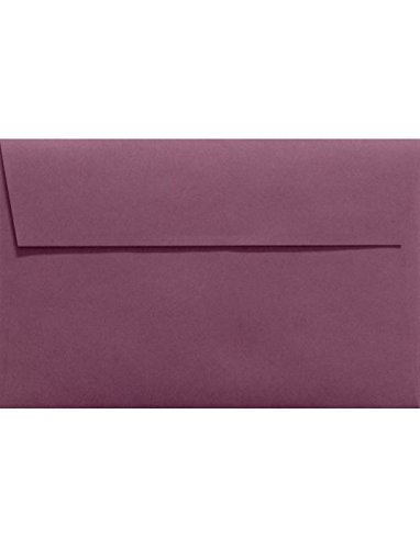A9 Invitation Envelopes (5 3/4 x 8 3/4) - Vintage Plum Purple (50 Qty.) Photo #2
