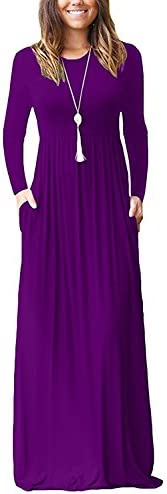 GRECERELLE Womens Sleeve Dresses Pockets