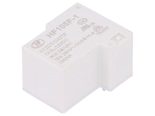 HF105F1/012DT-1HST Relay electromagnetic SPST-NO Ucoil12VDC 40A Ucoil HONGFA RELAY