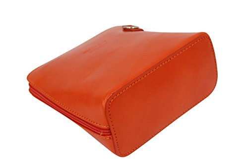 bag Cross Women's Orange Handbag bag AMBRA Small disco bag shoulder Moda leather VL508 body bag YXUqUS