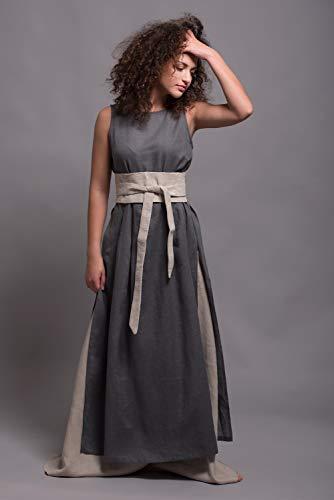 Linen Wrap Belt - Women's Wide Obi ()