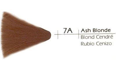 Vivitone Cream Creative Hair Color, 7A Ash Blonde