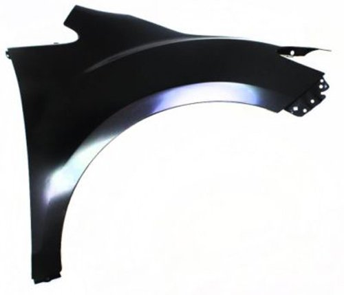 CPP Front Passenger Side Primed Fender Replacement for 2007-2012 Mazda CX-7