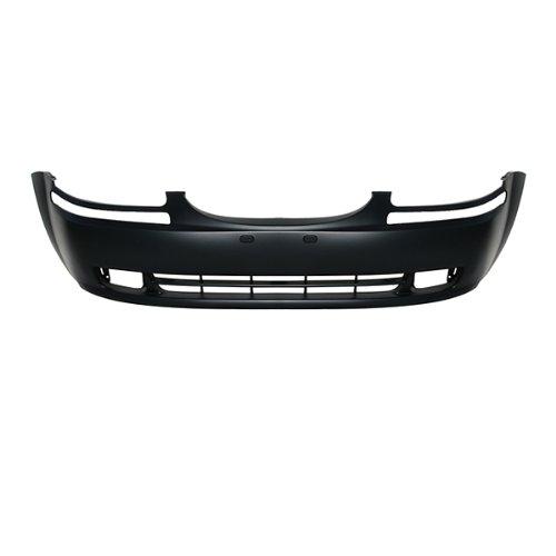 CarPartsDepot 352-15598-10-PM FRONT BUMPER COVER PRIMERED BLACK PLASTIC SEDAN WAGON GM1000728