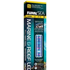 Engineered for vibrant coral growth, color and health, the Fluval Sea Marine & Reef 2.0 Performance LED features greater light output than our previous generation of marine and reef LED strip lights, in addition to a new illuminated touch...