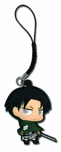 Attack On Titan Levi PVC Cell Phone Charm