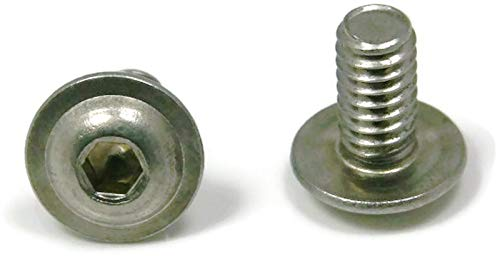 Button Flange Socket Head Cap Screw Stainless Steel 5/16-18 x 3/4 Packedge Quantity 100 - Quality Assurance from JumpingBolt