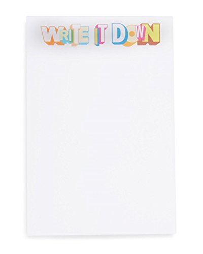 Owen & Fred 'Write it down' Graphic Greg Lamarche Notepad