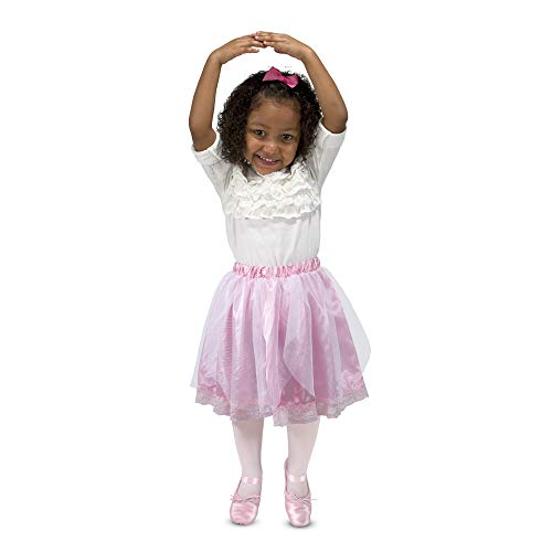 Melissa & Doug Role Play Collection - Goodie Tutus! Dress-Up Skirts Set (4 Costume Skirts) ()