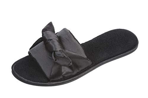 Picture of Roxoni Fashion Women Slippers, Rhinestone Glitter Sequin Studded Metallic Thong Flip Flops Flat Shoes
