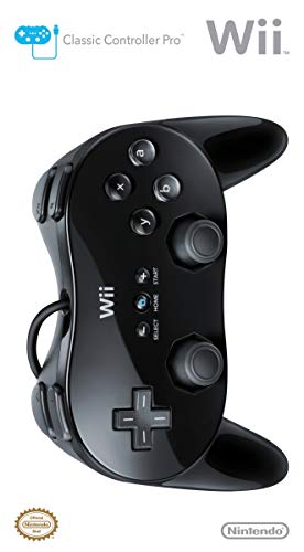 Wii Classic Controller Pro Black Nintendo (Renewed) - http://coolthings.us
