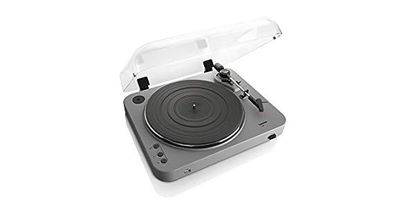Amazon.com: Lenco L-85 Tocadiscos con grabación directa USB ...