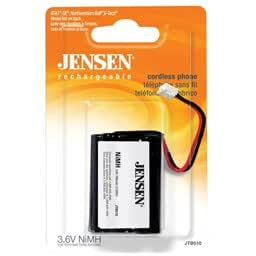 Hi-Capacity B-768 NiMh Cordless Phone Battery from Jensen