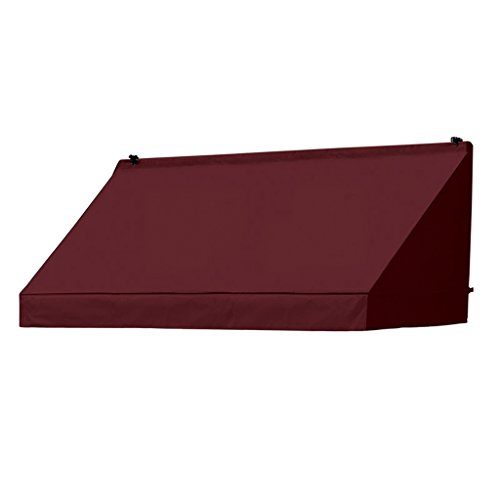 Replacement Cover for Classic Awning - 4-Feet Width (Burgundy) ()
