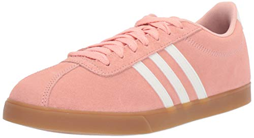 adidas Women's Courtset, dust Pink/Cloud White/Gum, 6.5 M US