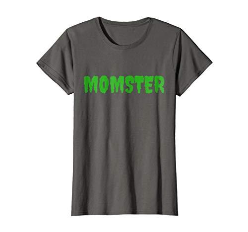 Womens Funny Mom Halloween Costume T-shirt ma mother mommy Medium Asphalt -