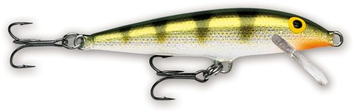 Rapala Original Floater 05 Fishing lure ( Fishing lure (Yellow Perch, Size- 2)