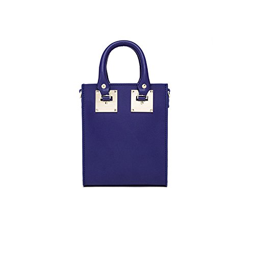 Vogue À Rose Unique GWQGZ Main Dame Sac Blue Rétro pxqwwd1znT