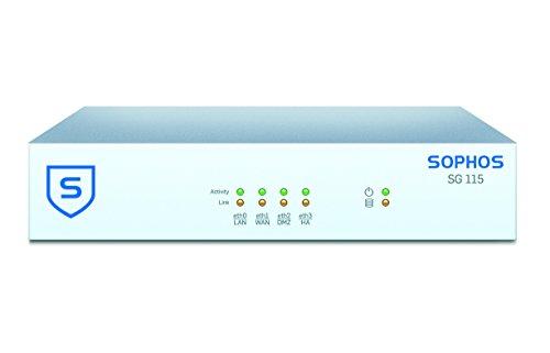 Sophos   SG1BTCHUS   Sophos UTM SG 115 (Revision 2) Security Appliance with (1 Year) FullGuard Hardware Plus Service Bundle