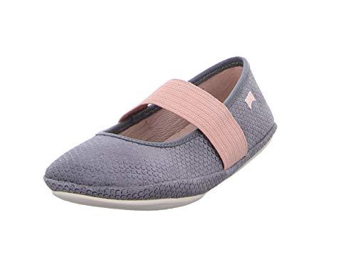 Camper Kids Girls Shoes - Camper Right Medium Grey Leather 11 M US Little Kid