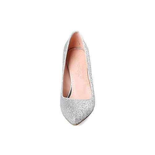 BalaMasa Silver Sandales Compensées APL10725 Femme rrZfq