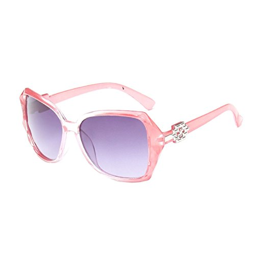 Sinkfish SG50011 Sunglasses for Womens,Anti-UV & Fashion Oval/Pink Frames/C1 - Sunglasses Ansi Classics Gargoyles