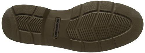tawny Marron Rockport Tawny Nubuck Toe Plain Nubuck Derbys Shoe Charlee Homme rq0H0xnYw