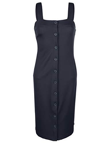 AM mit 46 Gr Marken Jersey Navy Kleid Knopfleiste 0617379503 rx0wrIHAq