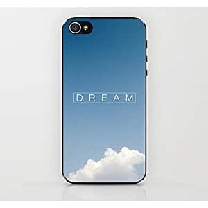 QJM Sky Dream Pattern Hard Case for iPhone 4/4S